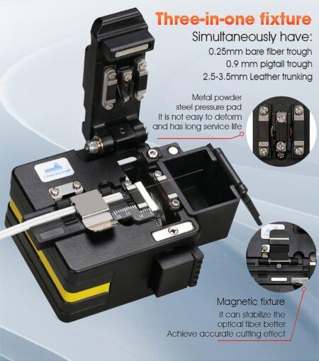 FTTH High Precision cutting tool AUA-S2X2 Optical Fiber Cleaver Cable Cutting Knife Fiber Cleaver